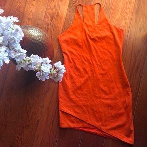 Sugar+Lips orange dress